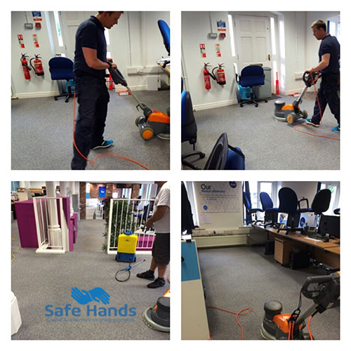 Call centre carpet cleaning